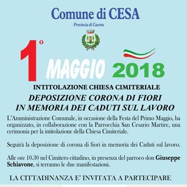 ComCesa 1 Maggio 2018