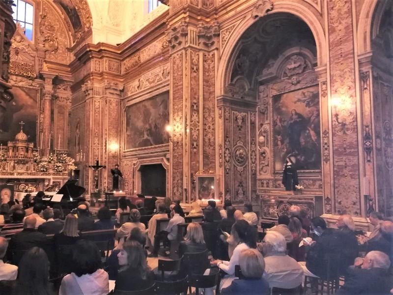 chiesa di San Francesco per il concerto 1