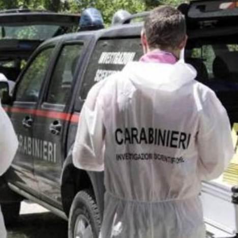 carabinieri scientifica omicidio