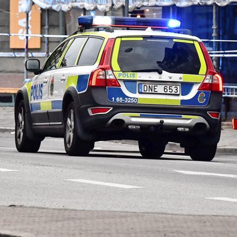 svezia polizia