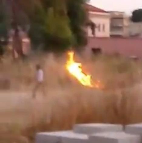 mondragone rom incendio