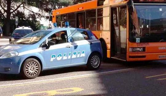 polizia autobus