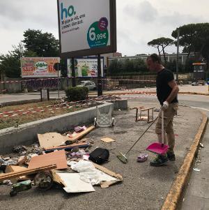 ripristino aiuola via Terracina (1)
