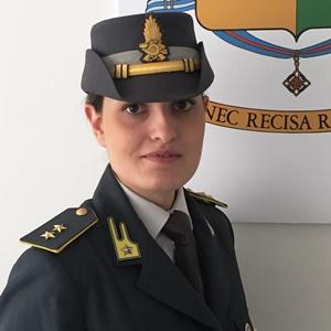 finanza tenente Roberta Petracca