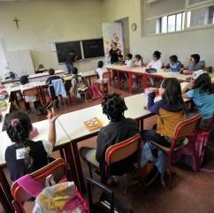 aula scuola alunni classe