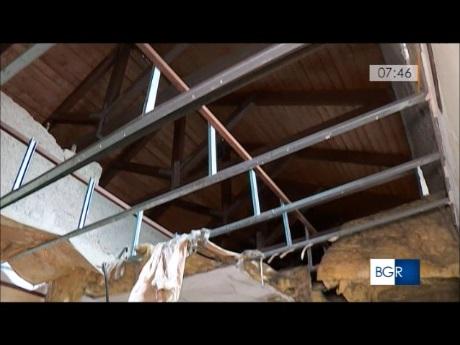 convento crollo soffitto 1
