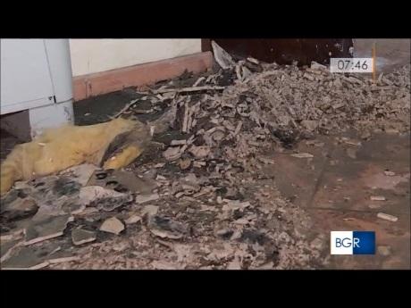 convento crollo soffitto