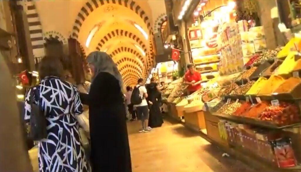 istanbul mercato spezie