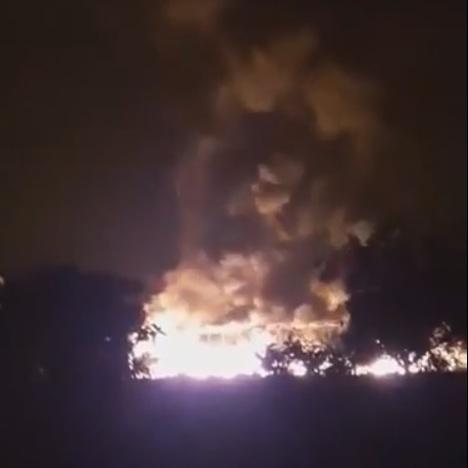valle maddaloni incendio2