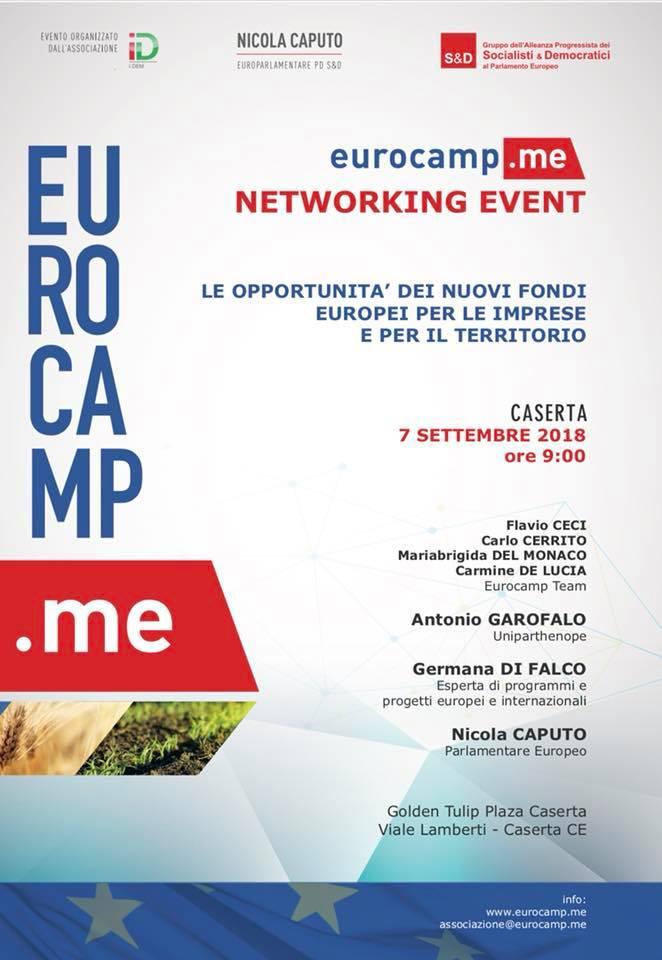 EUROCAMP NETWORKING EVENT – CASERTA 7 SETTEMBRE 2018 (1) (1)