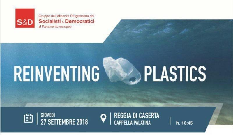 REINVENTING PLASTIC – CASERTA 27 SEPT 2018