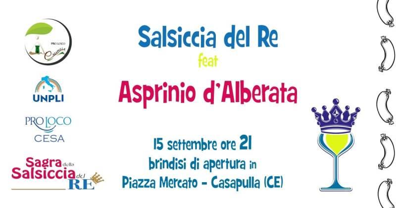 Salsiccia e vino Asprinio