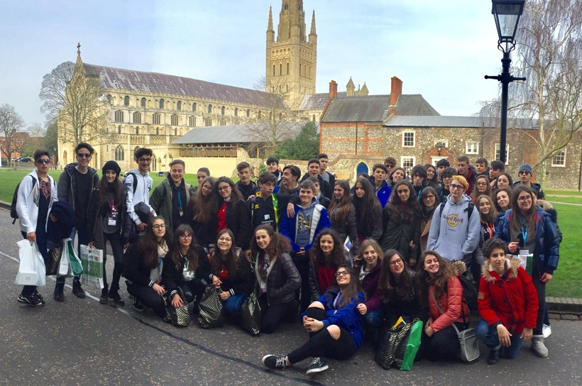 Studenti del Fermi a Cambridge