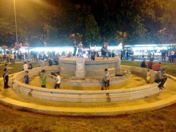 fontana piazza Vittorio Emanuele Aversa