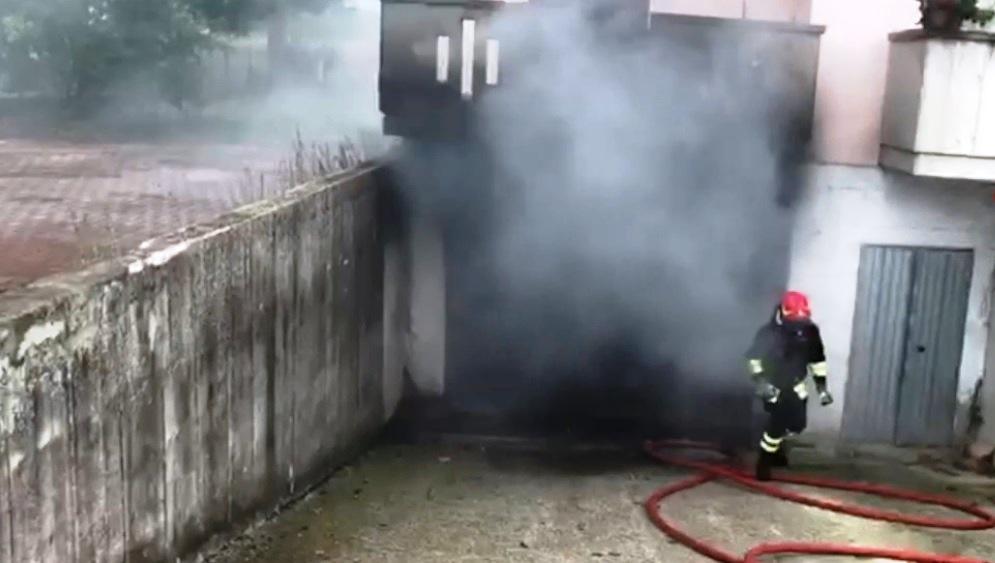 garage incendio box
