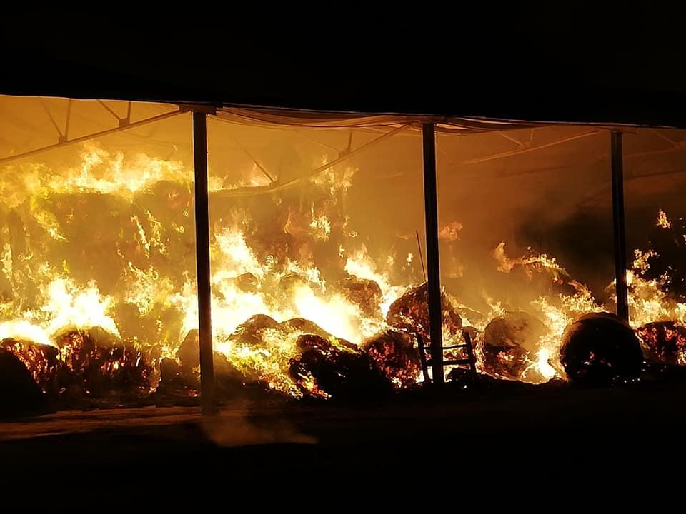 incendio fienile marcianise (6)