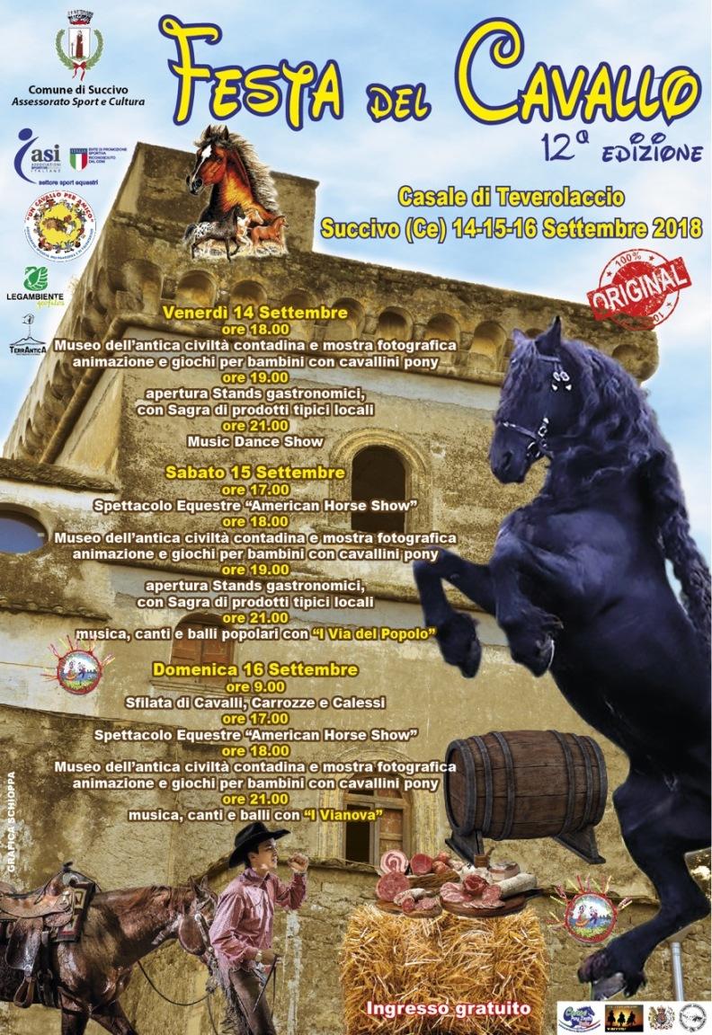 Succivo Festa Del Cavallo Al Casale Di Teverolaccio Pupiatv