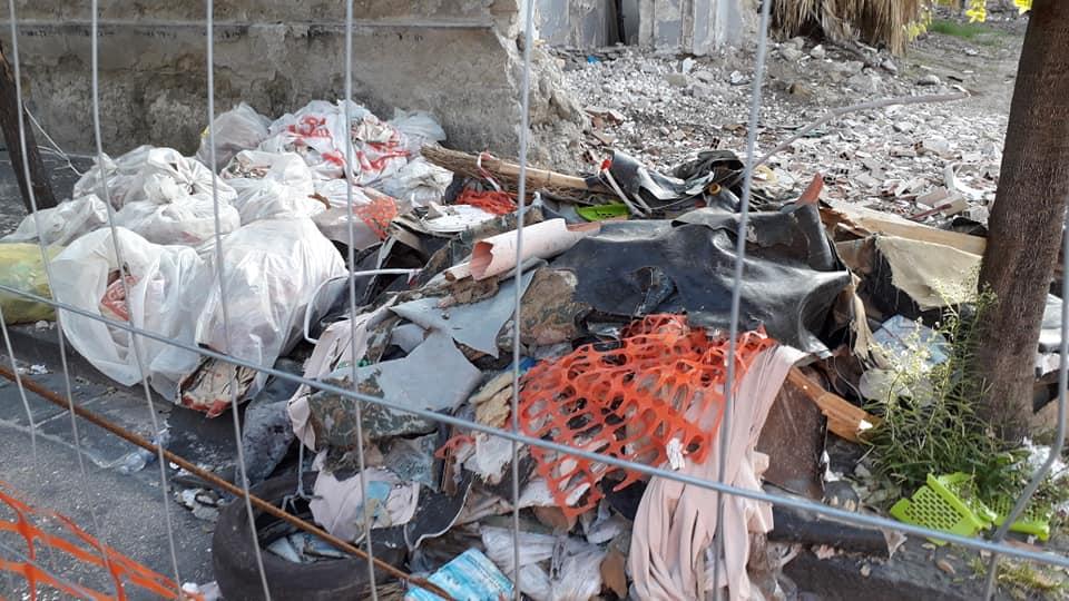 piazza don diana rifiuti aversa