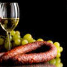 salsiccia vino