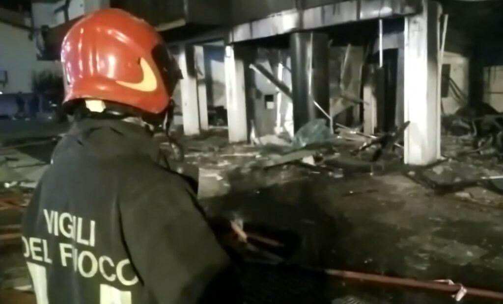 vigili fuoco incendio