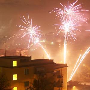 botti fuochi artificio
