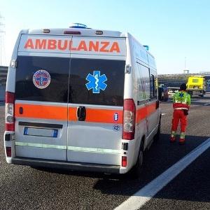incidente autostrada ambulanza