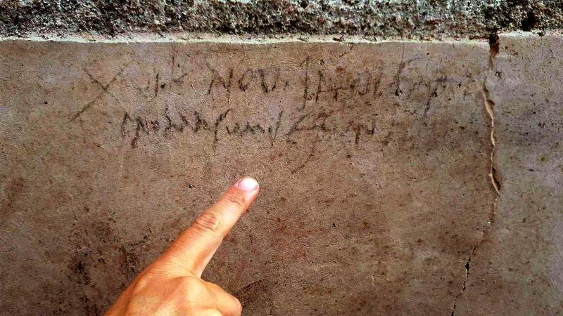 pompei scritta