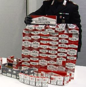 sigarette carabinieri
