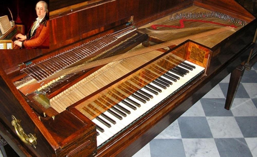 cimarosa, pianoforte a tavolo