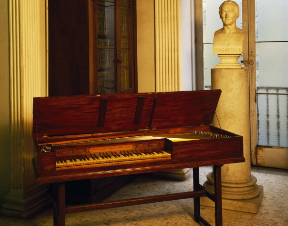 Harpsichord belonged to Domenico Cimarosa