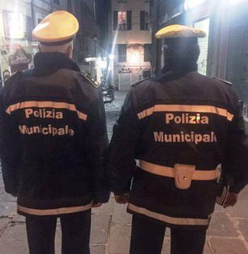 vigili polizia municipale movida