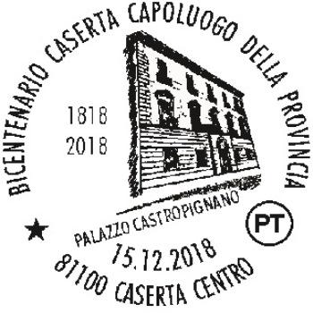annullo Bicentenario Caserta