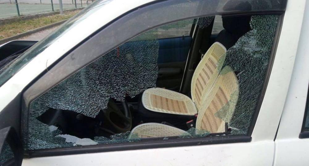 auto vetro rotto