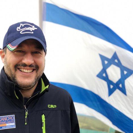 salvini israele