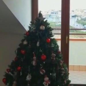 natale albero finestra