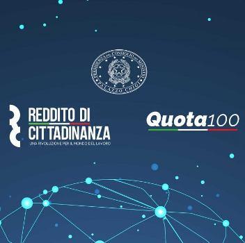 reddito cittadinanza quota 100