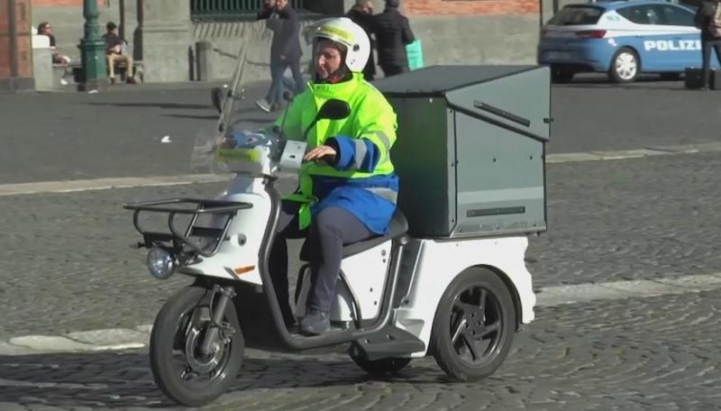triciclo poste