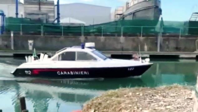 veneto carabinieri motoscafo