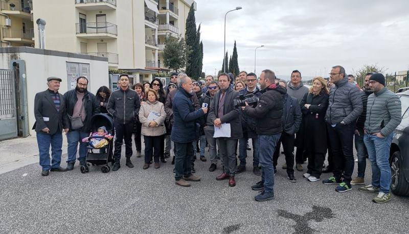 I residenti della Nato in protesta – Rai