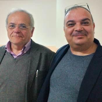 Renato Natale con Alfonso Letizia