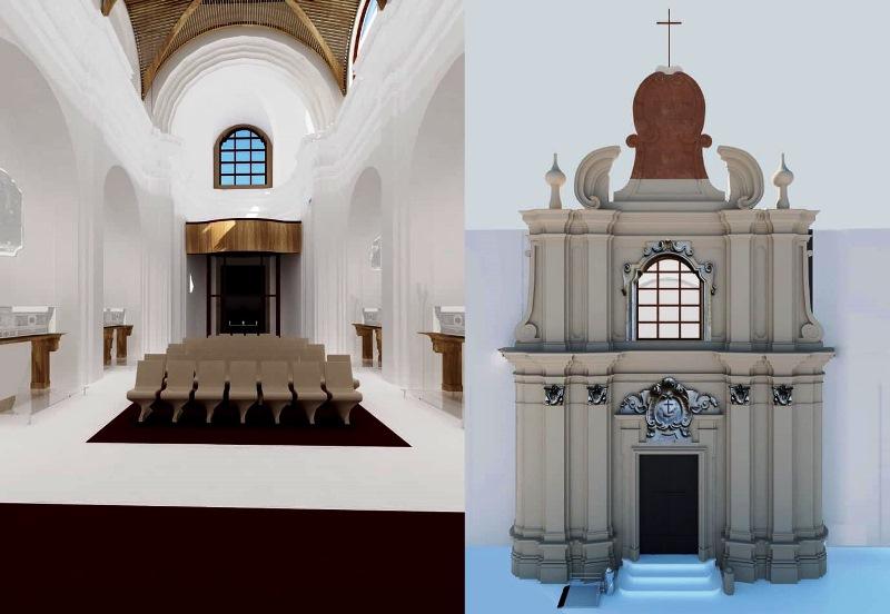 chiesa dello spirito santo ristruttu