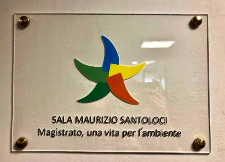 sala Santoloci al Ministero dell'Ambiente