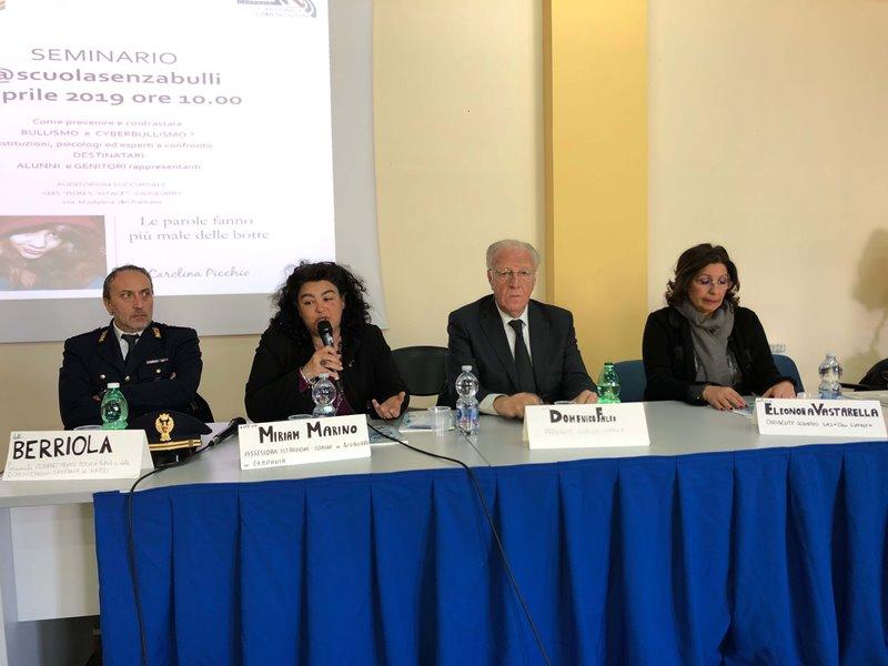 Da sinistra Berriola, Marino, Falco e Vastarella