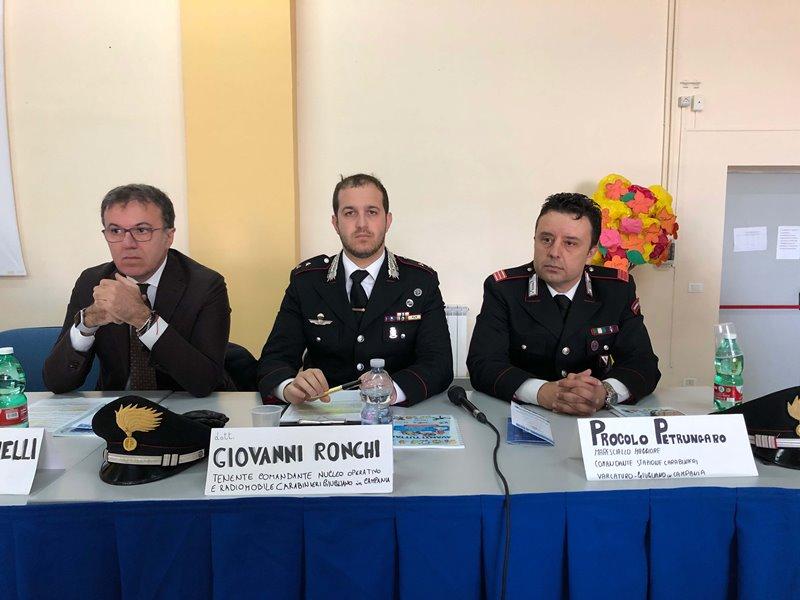 Da sinistra Iannelli, Ronchi e Petrungaro