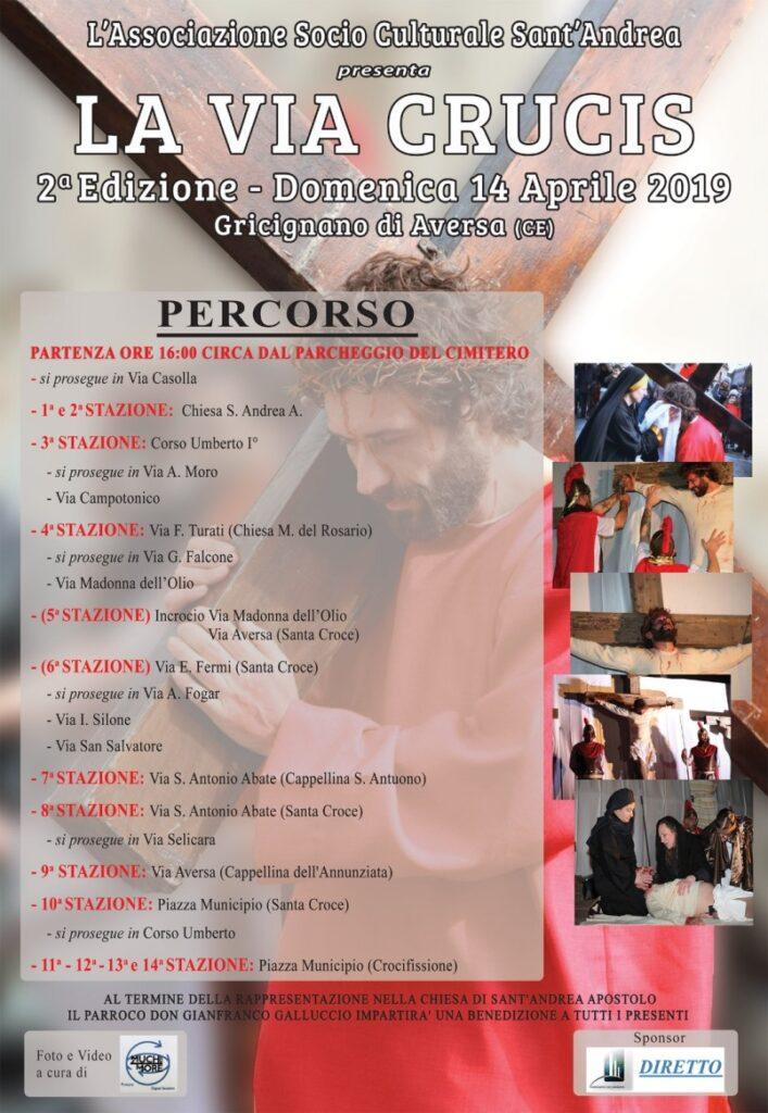 via crucis gricignano 2019_programma