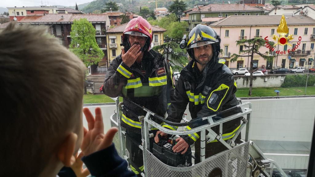 vigili fuoco verona ospedale (3)