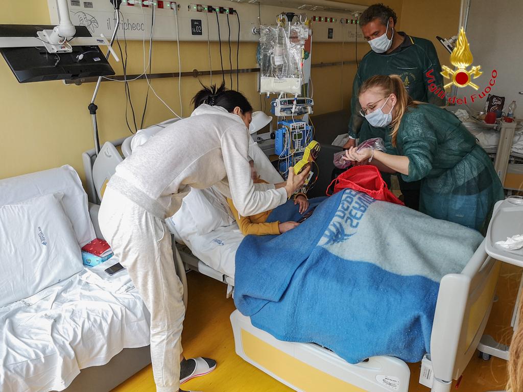 vigili fuoco verona ospedale (6)