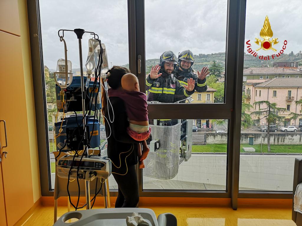 vigili fuoco verona ospedale (7)