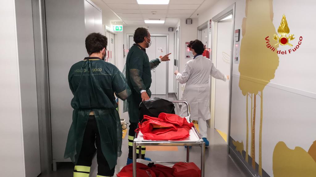 vigili fuoco verona ospedale (9)