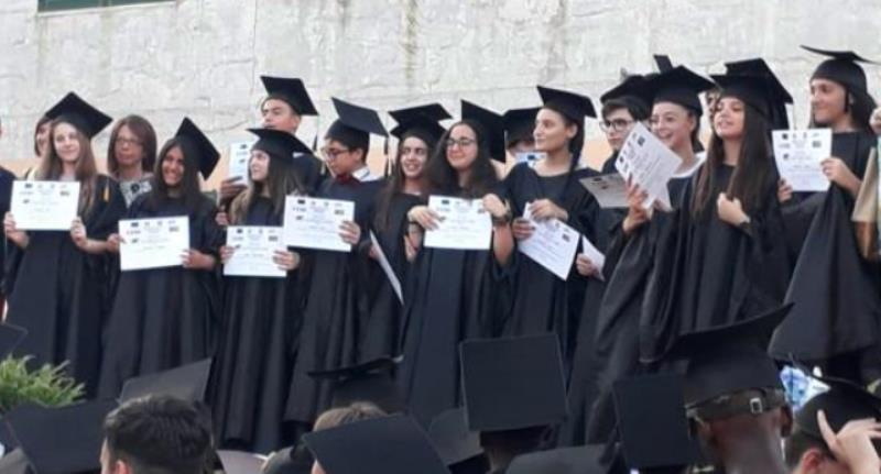 gricignano festa diploma 2019 cop